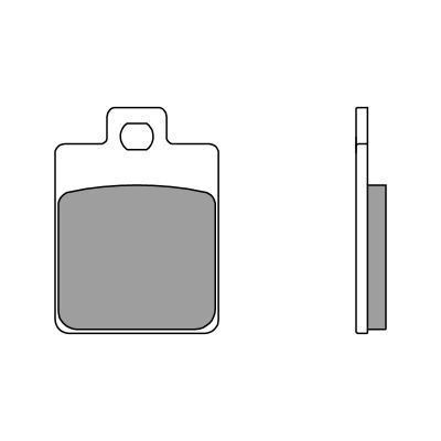 Plaquettes de frein Brembo 07067CC carbone céramique arrière