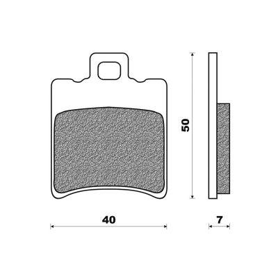 Plaquettes de frein Newfren Standard organique .FD.0196 BS
