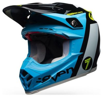 Casque cross Bell Moto 9 Flex Seven Flight noir