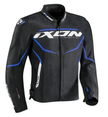 Blouson textile Ixon SPRINTER noir/bleu