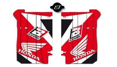 Kit déco de radiateur Blackbird Dream 3 Honda CRF 250R 14-17 rouge