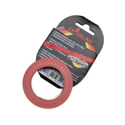 Liseret Tuning Starline 10m x 6mm, rouge