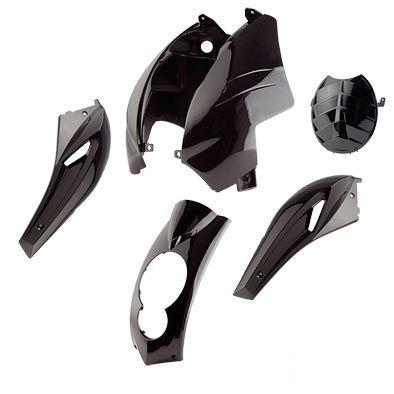 Kit carénage Peugeot Ludix noir brillant
