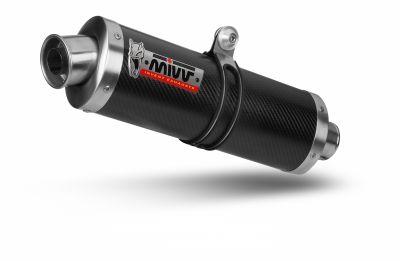 Silencieux MIVV Oval carbone Kawasaki ZR-7 / ZR-7S 99-04