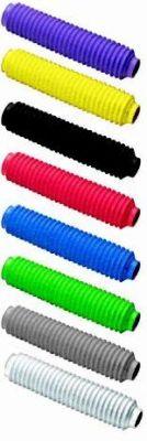 Soufflets de fourche noir d28/30 longueur 180mm