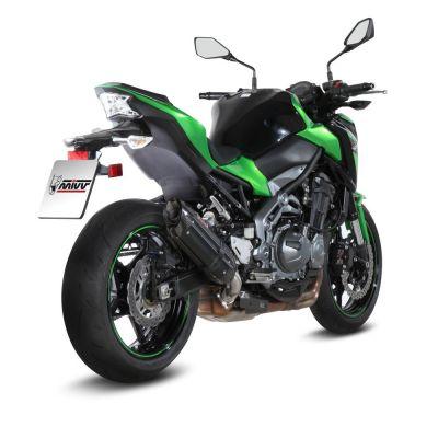Silencieux Mivv Suono Inox noir Kawasaki Z900 2017