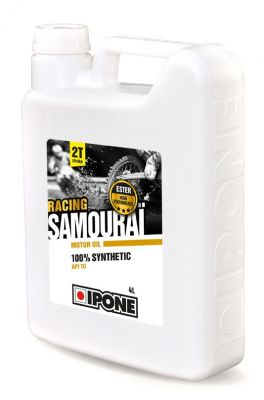 Huile moteur 2T Ipone Samouraï Racing 4 Litres