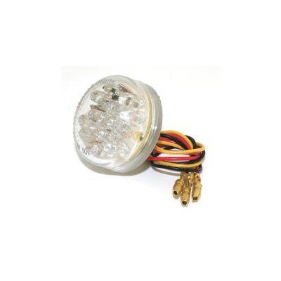 Feu arrière Brazoline Mini rond LED