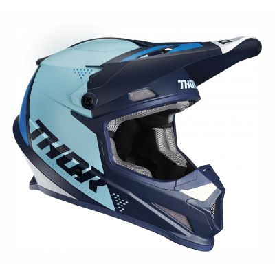 Casque cross Thor Sector Blade navy/bleu