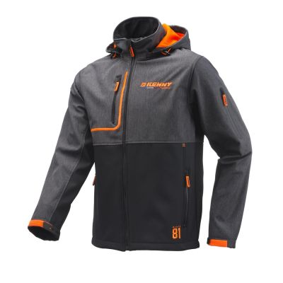 Veste Softshell Kenny Racing gris/orange noir