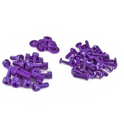 Vis de capotage violet Nitro