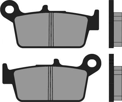 Plaquettes de frein Polini Sintered Heroism/Super 9/SV 50 Geo