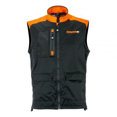 Veste sans manches Kenny Bodywarmer + noir/orange fluo