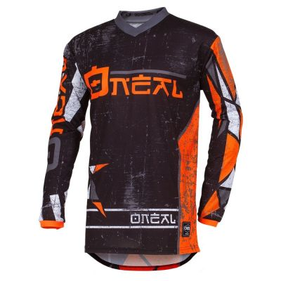 Maillot cross O'Neal Element Zen orange