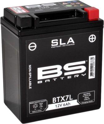 Batterie BS BTX7L sans entretien activée usine
