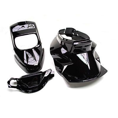 Kit carrosserie Replay design 4 pièces noir pour Booster spirit/BW's original