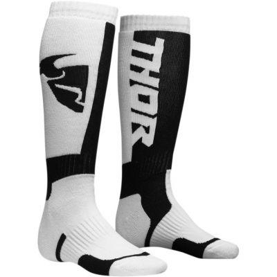 Chaussettes enfant Thor MX blanc/noir
