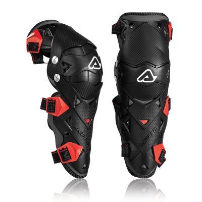 Genouillères Acerbis IMPACT EVO 3.0 noir/rouge