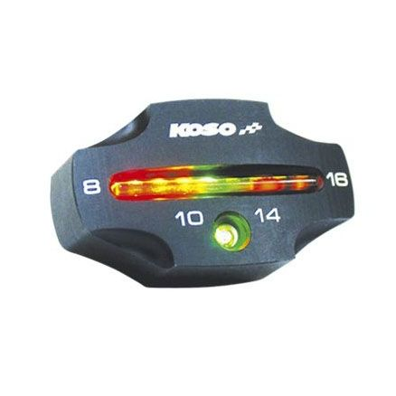 Voltmètre Koso CNC Noir