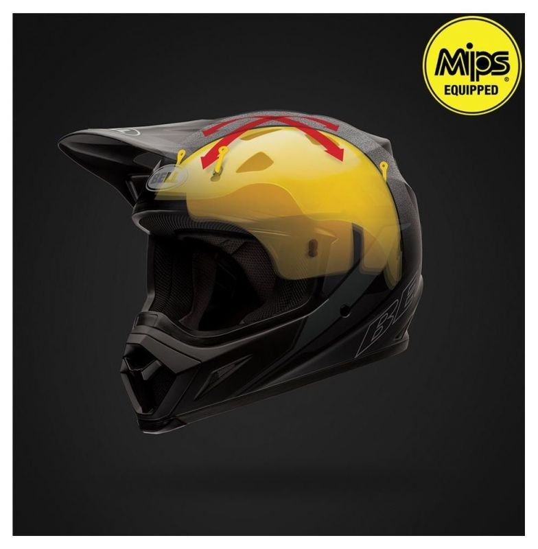 Casque cross Bell MX 9 Seven Checkmate - 6