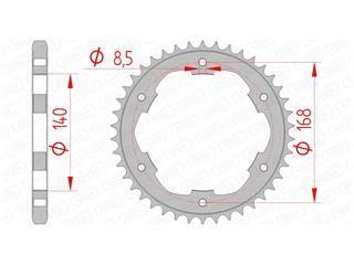 Kit chaîne Afam acier 17x41 BMW F 650 GS 08-12 - 1