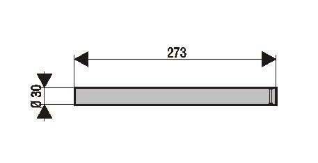 Tubes de fourche (x2) MBK Booster Spirit / yamaha BW's original 50 1999 (pour fourche KYB)
