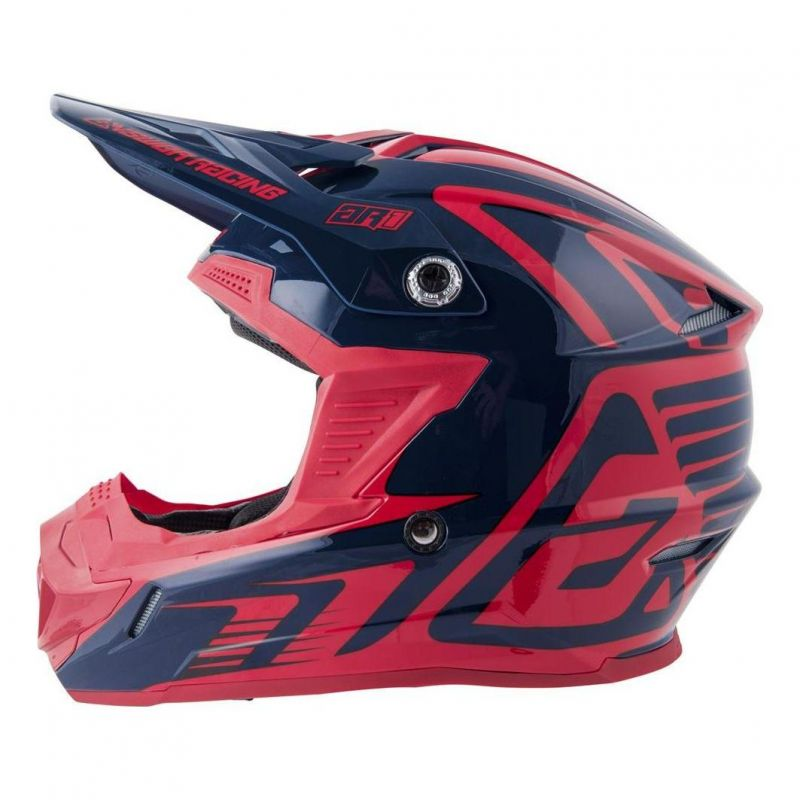 Casque cross Answer AR1 Edge midnight/bright red - 2