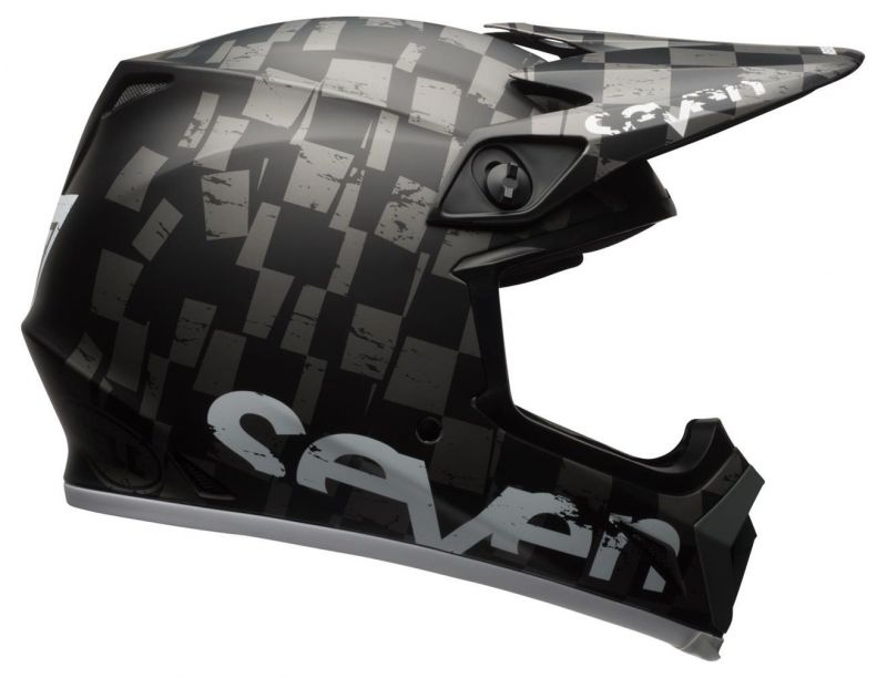 Casque cross Bell MX 9 Seven Checkmate - 4