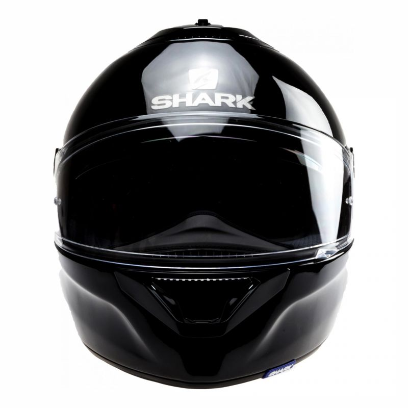 Casque intégral Shark Spartan 1.2 Blank noir - 3