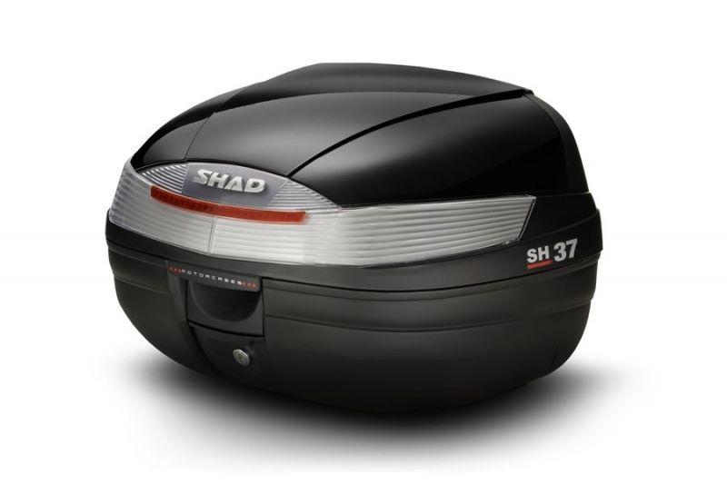 Couvercle top case SHAD SH37 Noir Metal