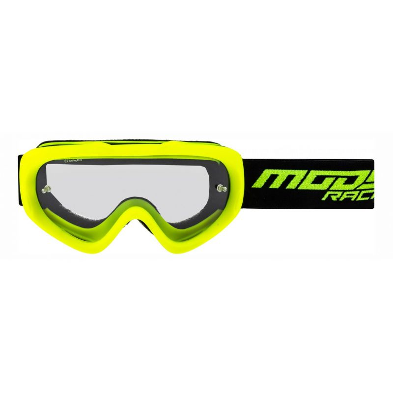 Masque cross enfant Moose Racing QUALIFIER SLASH jaune/noir