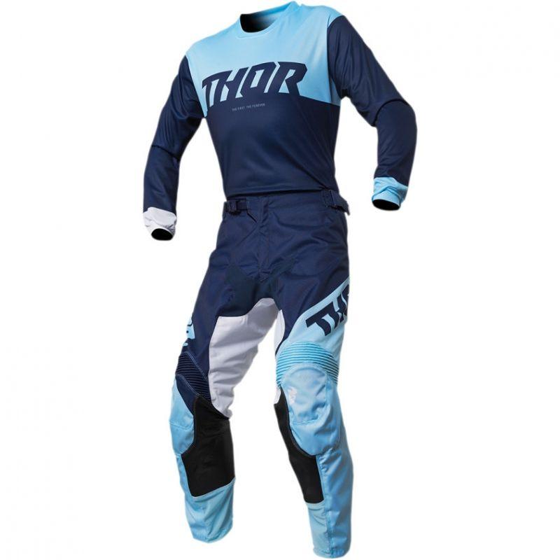 Pantalon cross Thor Pulse Factor navy/powder - 4