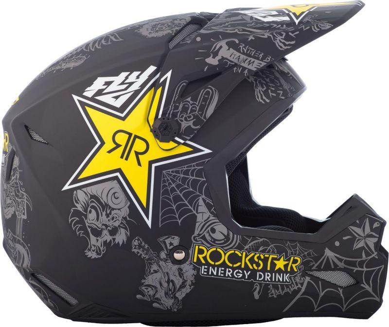 Casque cross Fly Racing Elite Guild Rockstar - 1