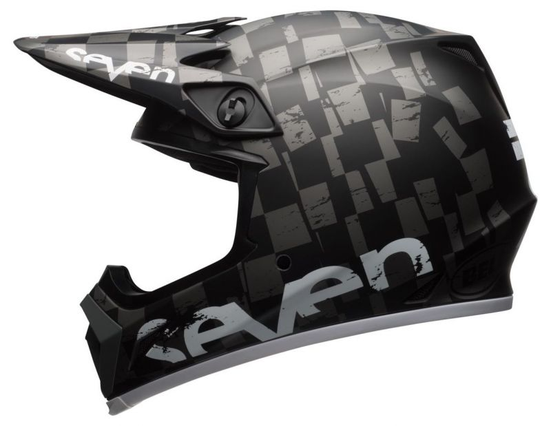 Casque cross Bell MX 9 Seven Checkmate - 3