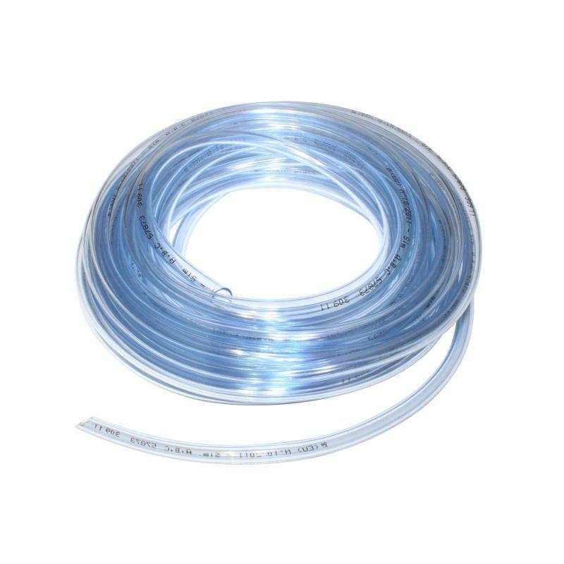 Durite essence ø6x9 transparent (rouleau 10m)