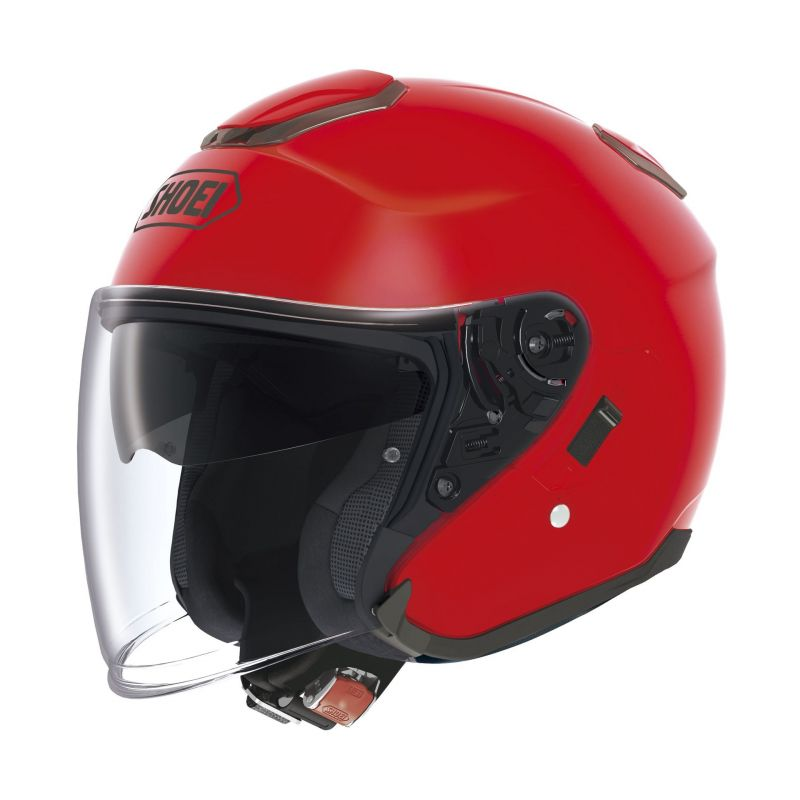 Casque jet Shoei J-Cruise rouge brillant