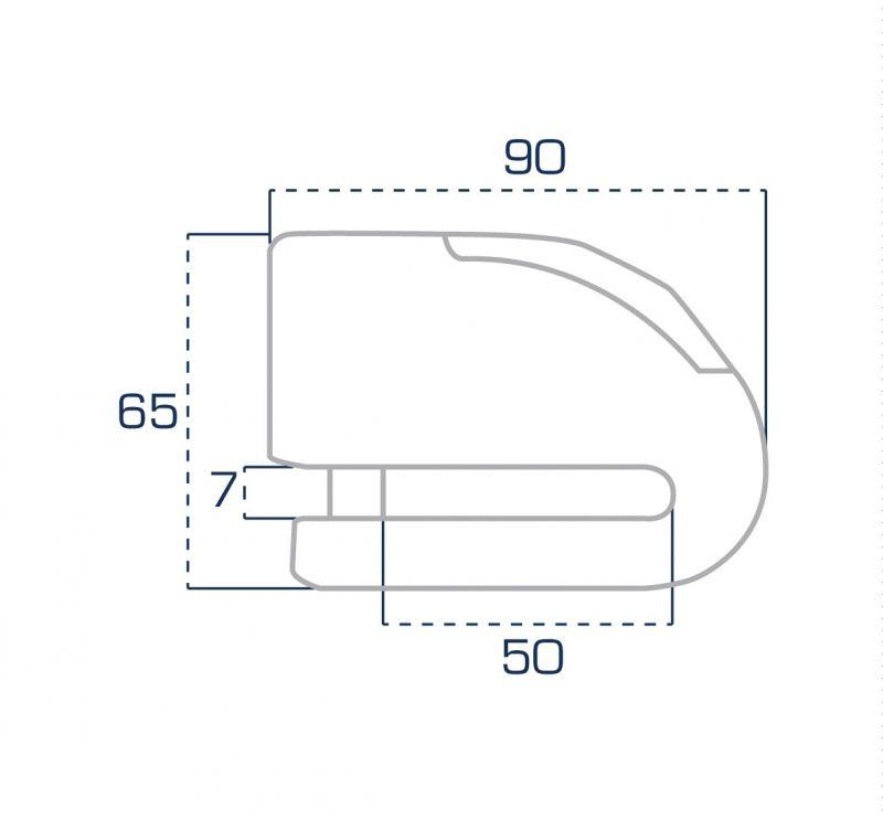 Bloque disque alarme FR 10 SRA - 1
