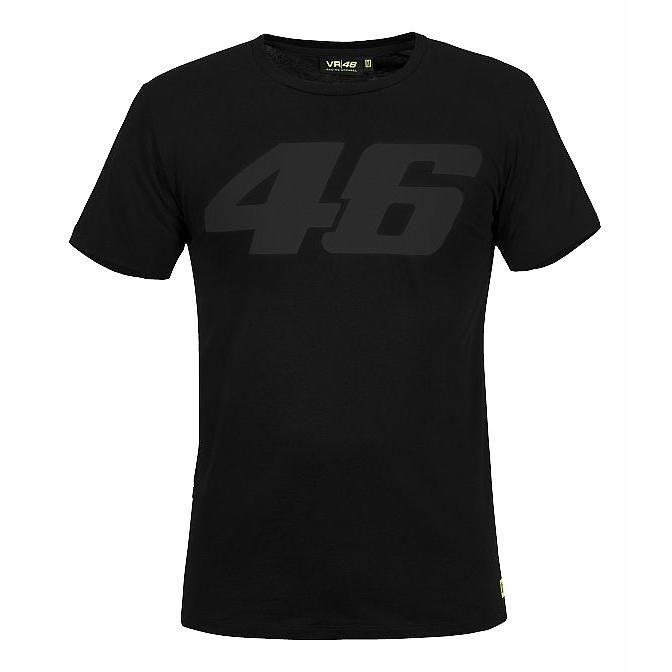 Tee shirt VR46 Core ton sur ton noir