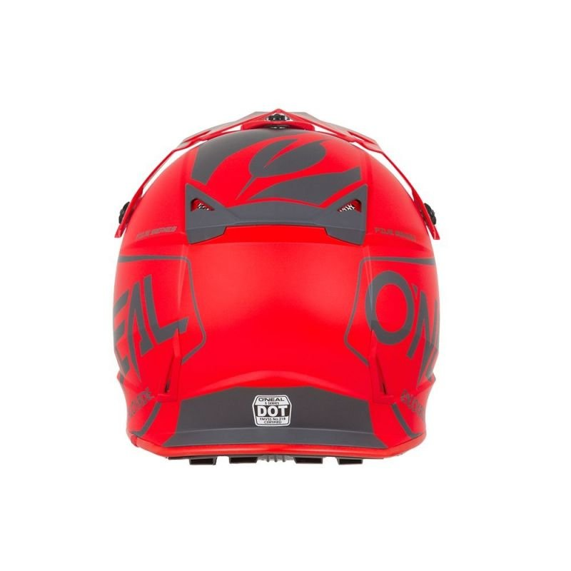 Casque cross O'Neal 5SRS Hexx rouge - 1