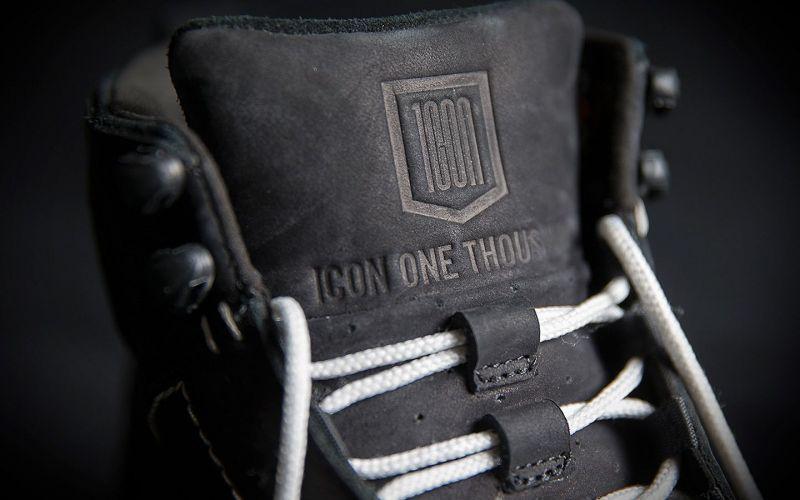 Chaussures moto Icon 1000 Truant 2 noir - 5