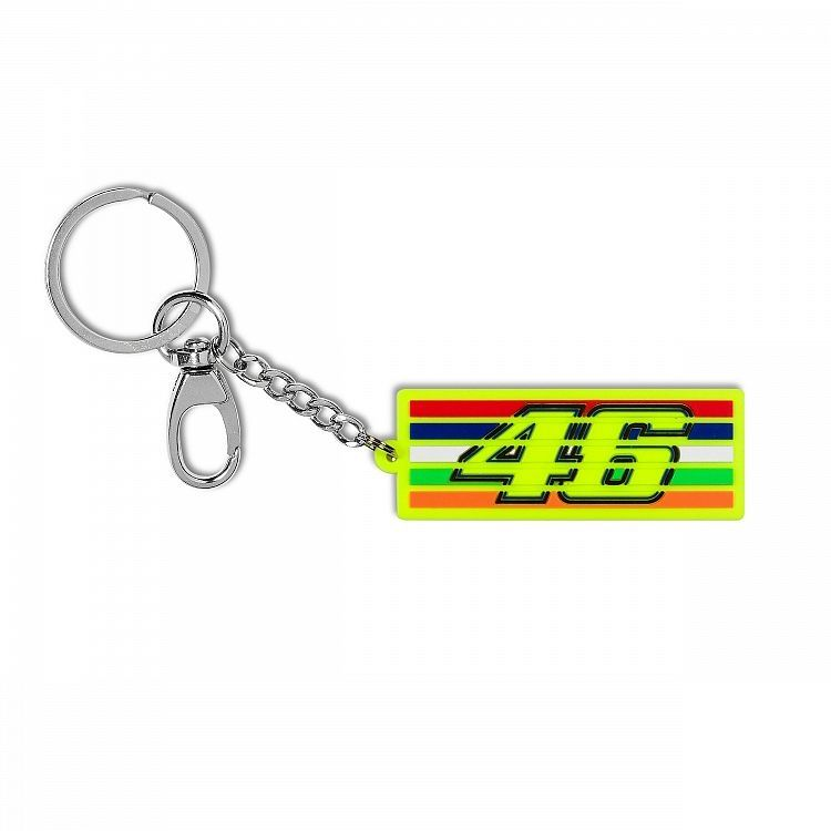 Porte clé VR46 Valentino Rossi Stripes multi 2019