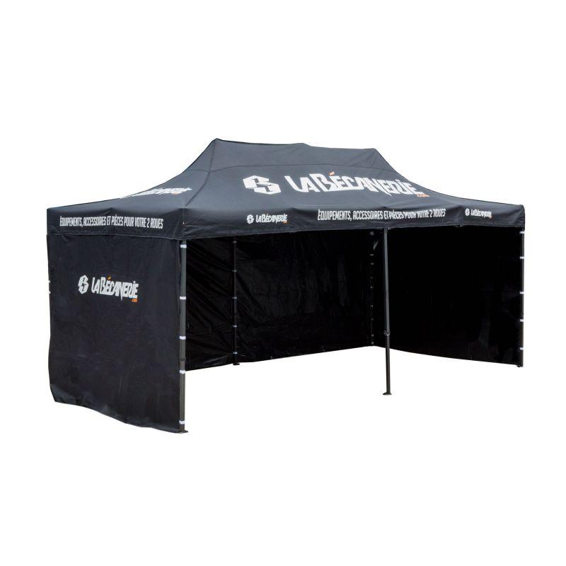 Tente paddock 3x6 la b canerie atelier stand sur la for Ouvrir garage moto