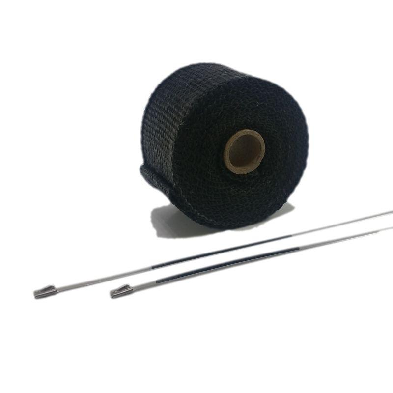 Protection thermique échappement noire 50mm