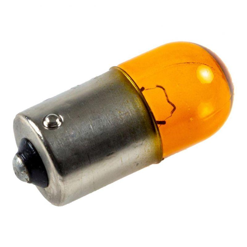 Ampoule Neolux 12V 10W BAU15S ergot décalé orange