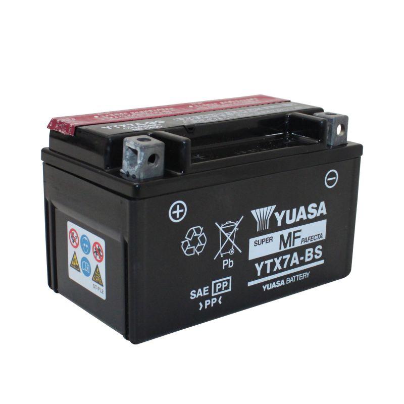 Batterie Yuasa YTX7A-BS 12V 6Ah