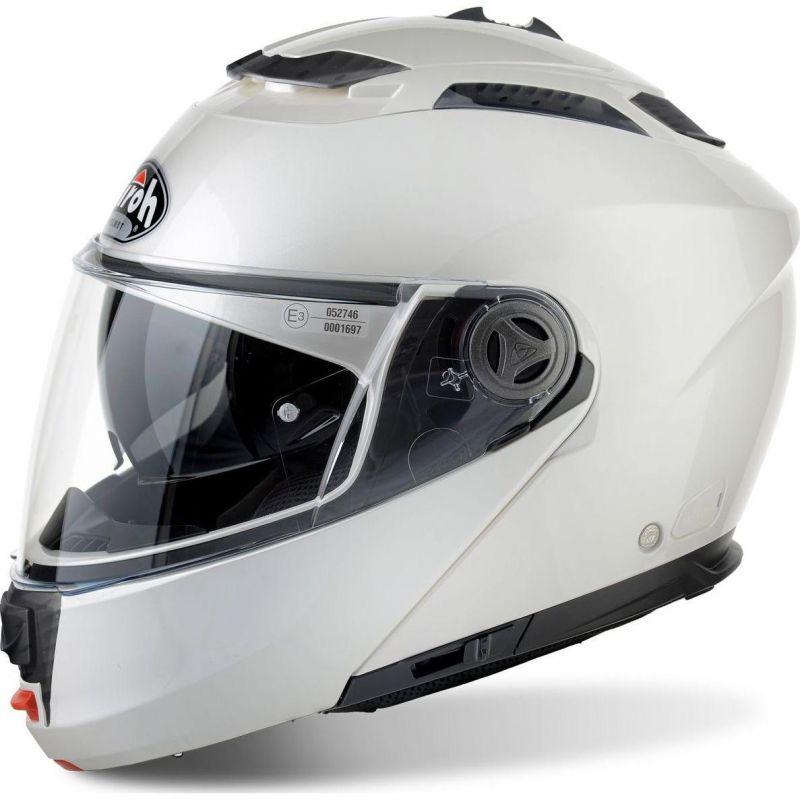 Casque Modulable Airoh Phantom S Color Blanc Casques Moto Sur La