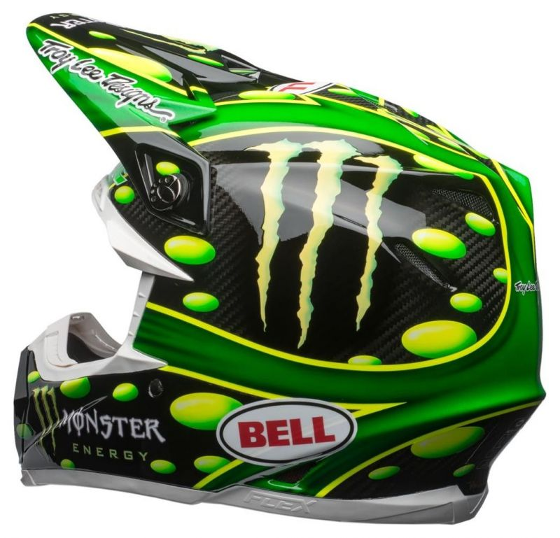 Casque cross Bell Moto 9 Flex MC Grath Monster Replica 18.0 Gloss - 6