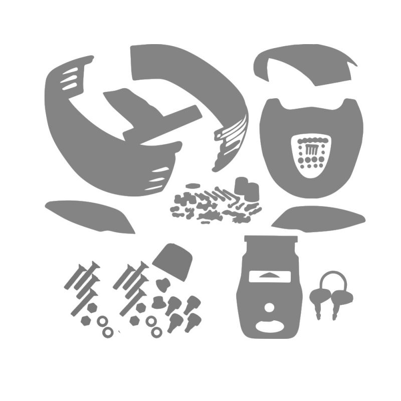 Logo Givi chromé Givi Z229