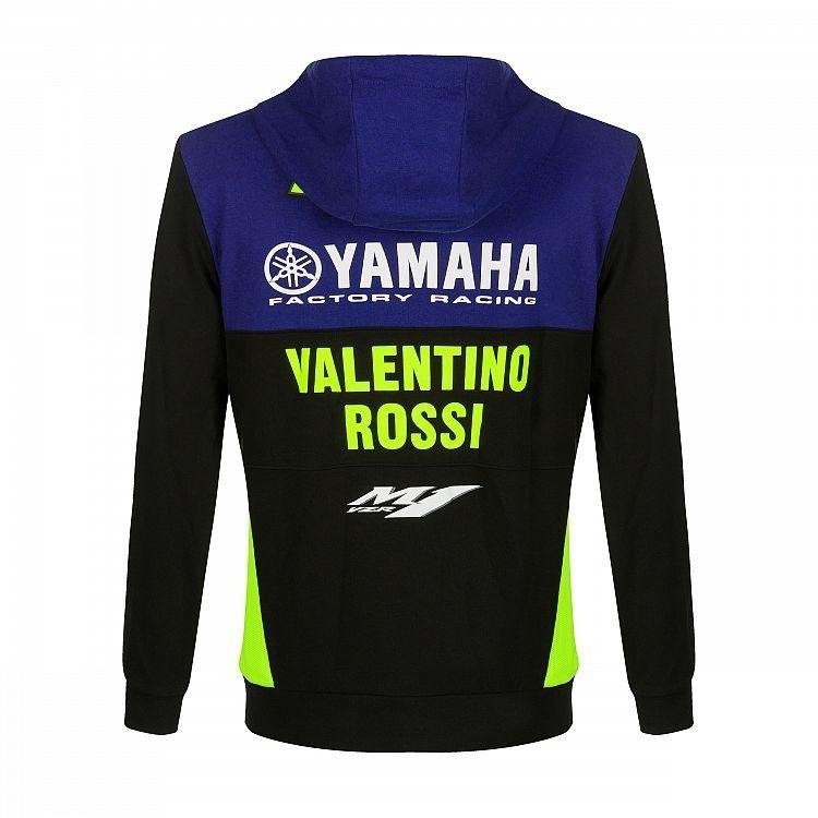 Sweat zippé à capuche VR46 Valentino Rossi Yamaha Dual Racing 2019 - 1