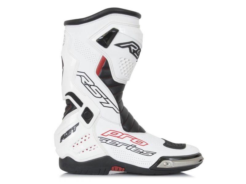 Bottes RST Pro Serie Race Sport blanc/noir
